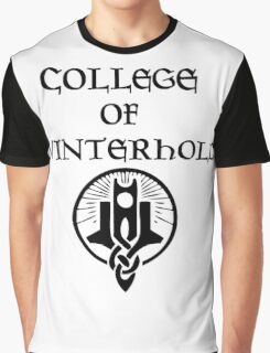 Skyrim College of Winterhold Graphic T-Shirt