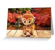 Realistic Pokemon: Chimchar Greeting Card