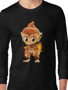 Realistic Pokemon: Chimchar Long Sleeve T-Shirt