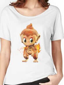 Realistic Pokemon: Chimchar Women's Relaxed Fit T-Shirt
