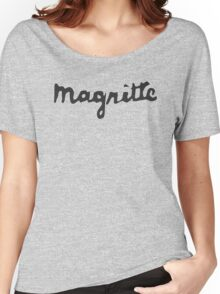 Magritte - Signature Women's Relaxed Fit T-Shirt