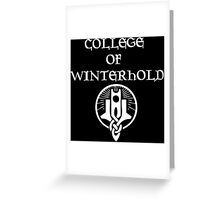 Skyrim College of Winterhold Greeting Card