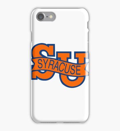 Syracuse Orange University Blue iPhone Case/Skin