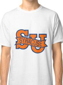 Syracuse Orange University Blue Classic T-Shirt