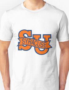 Syracuse Orange University Blue T-Shirt