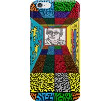 3D Wall - HARING iPhone Case/Skin