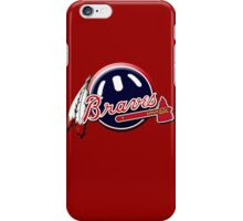 atlanta braves iPhone Case/Skin