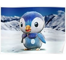 Realistic Pokemon: Piplup Poster