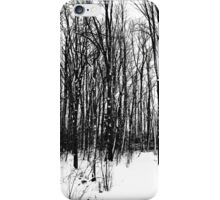 A Black And White Winter iPhone Case/Skin