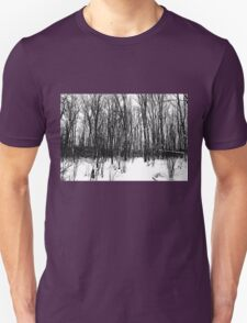 A Black And White Winter Unisex T-Shirt