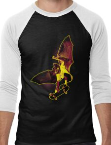 Skate Bat Men's Baseball ¾ T-Shirt