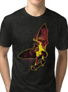 Skate Bat Tri-blend T-Shirt
