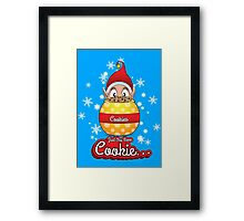 Just One More Cookie... Framed Print