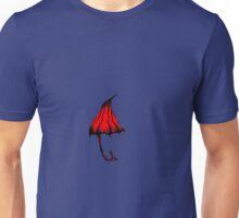 red umbrella  Unisex T-Shirt