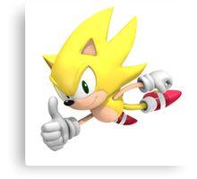 Super Sonic Canvas Print
