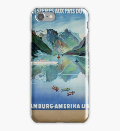 Painting hills iPhone Case/Skin