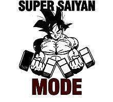 Super Saiyan Mode Photographic Print