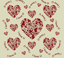 Hearts, hearts, hearts by Dulcina