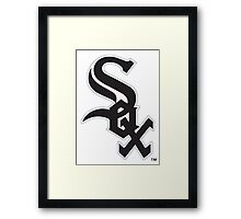 cincinnati sox Framed Print