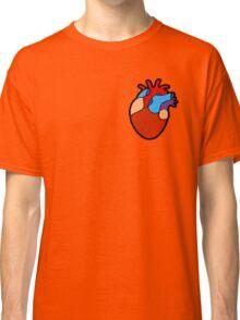 Anatomical Heart Pattern Classic T-Shirt