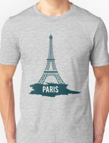 Eiffel tower paris Unisex T-Shirt