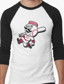cincinnati reds Men's Baseball ¾ T-Shirt