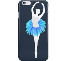 Blue Ballerina iPhone Case/Skin