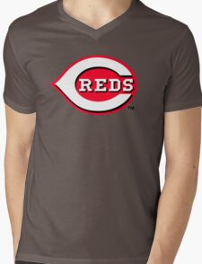 cincinnati reds Mens V-Neck T-Shirt