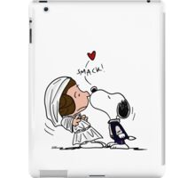 Snoopy Lucy Star Wars iPad Case/Skin