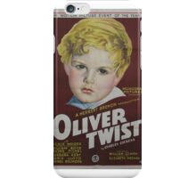 classic movie : Oliver Twist iPhone Case/Skin
