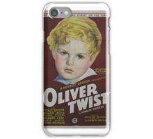 classic movie : Oliver Twist iPhone Case/Skin