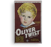classic movie : Oliver Twist Canvas Print