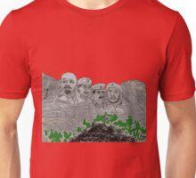 Mont Russes-mort Unisex T-Shirt