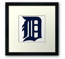 detroit tigers Framed Print