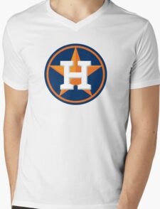 huoston astros Mens V-Neck T-Shirt