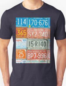 Vehicle rego plates T-Shirt