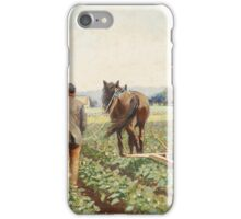SEVERIN NILSON, CULTIVATING POTATOES iPhone Case/Skin