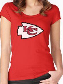 kansas city Women's Fitted Scoop T-Shirt