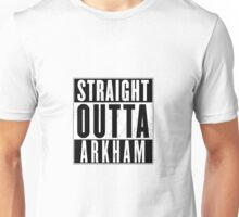 STRAIGHT OUTTA AKRHAM TOP Unisex T-Shirt