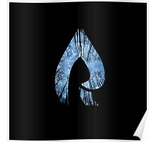 Faze Rain   Raindrop   Forest   Black Background   [HIGH QUALITY] Poster