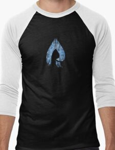 Faze Rain | Raindrop | Forest | Black Background | [HIGH QUALITY] Men's Baseball ¾ T-Shirt