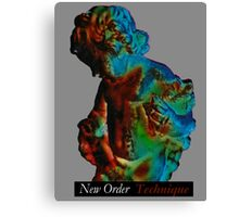 New Order - Technique Canvas Print