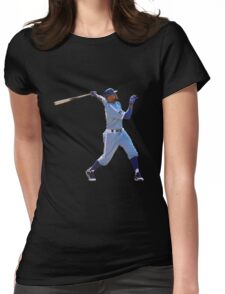 los angels dodgers Womens Fitted T-Shirt