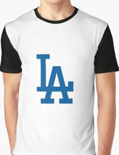 los angels dodgers Graphic T-Shirt