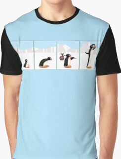 The penguin evolution Graphic T-Shirt