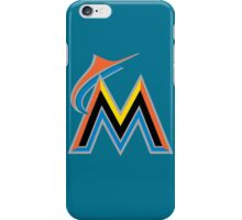 miami marlins iPhone Case/Skin