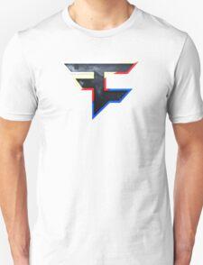 Faze 2.0 | World Logo | White Background Unisex T-Shirt