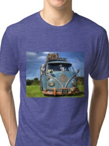 Blue VW Tri-blend T-Shirt