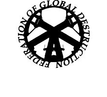 FGD(FEDERATION OF GLOBAL DESTRUCTION) Photographic Print