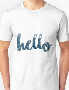 Hello song by Adele Unisex T-Shirt